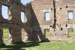 Ruinas del ladrillo antiguo Fotografía de archivo