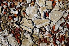 Ruinas del ladrillo y del hormigón foto de archivo