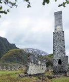 Ruinas del molino de azúcar Foto de archivo libre de regalías