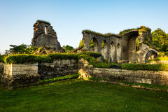 Ruinas del monasterio Fotografía de archivo libre de regalías