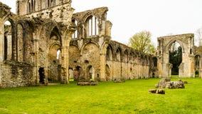 Ruinas del monasterio cisterciense de G de la abadía de Netley Fotografía de archivo libre de regalías