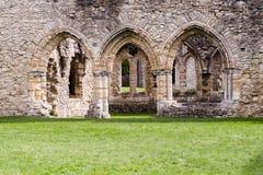 Ruinas del monasterio cisterciense de la abadía B de Netley Foto de archivo libre de regalías