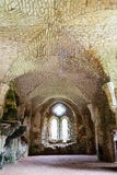 Ruinas del monasterio cisterciense de la abadía D de Netley Fotos de archivo