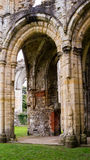 Ruinas del monasterio cisterciense de la abadía E de Netley Imagen de archivo libre de regalías