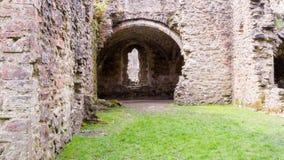 Ruinas del monasterio cisterciense de la abadía K de Netley Fotos de archivo libres de regalías