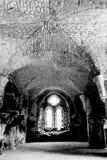 Ruinas del monasterio cisterciense HDR de la abadía D de Netley Foto de archivo