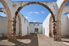 Ruinas del monasterio de Betancuria Fotos de archivo libres de regalías