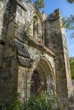 Ruinas del monasterio de Bonaval Imágenes de archivo libres de regalías