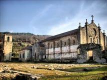 Ruinas del monasterio de Tarouca foto de archivo