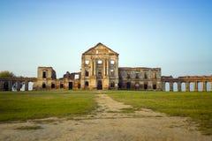 Ruinas del palacio del Sapeg, Ruzhany, Bielorrusia Imagenes de archivo