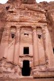 Ruinas del Petra antiguo de la ciudad Fotos de archivo libres de regalías