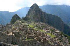 Ruinas del picchu de Machu Imagen de archivo