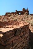 Ruinas del pueblo de Wupatki Imagenes de archivo