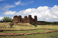 Ruinas del pueblo del Abo Fotografía de archivo