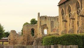 Ruinas del St Augustine Abbey Foto de archivo