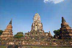 Ruinas del templo budista Imágenes de archivo libres de regalías