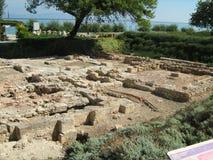 Ruinas del templo de Ammon Zeus Imágenes de archivo libres de regalías