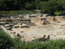 Ruinas del templo de Ammon Zeus Imagen de archivo libre de regalías