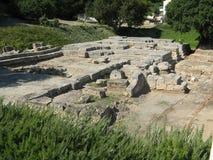Ruinas del templo de Ammon Zeus Foto de archivo libre de regalías