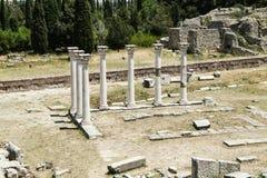 Ruinas del templo de Apolo E Imágenes de archivo libres de regalías