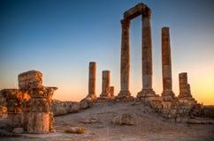 Ruinas del templo de Hércules Foto de archivo libre de regalías