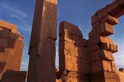 Ruinas del templo de Karnak Foto de archivo libre de regalías