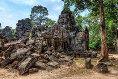 Ruinas del templo del som de TA Imágenes de archivo libres de regalías