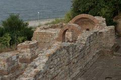 Ruinas del templo viejo Fotos de archivo libres de regalías