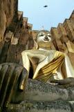 Ruinas del templo y Buda de piedra Fotografía de archivo libre de regalías