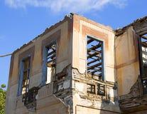 Ruinas después del terremoto Imágenes de archivo libres de regalías