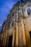 Ruinas a Dinamarca Antiga Catedral de S. Paulo Fotos de Stock Royalty Free
