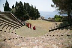 Ruinas eólicas de las islas Foto de archivo libre de regalías