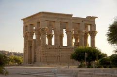 Ruinas egipcias del templo Imagen de archivo libre de regalías