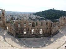 Ruinas en Atenas Imágenes de archivo libres de regalías