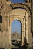 Ruinas en el Palmyra Siria Fotos de archivo
