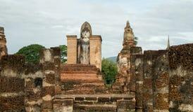Ruinas en el parque histórico en sukhothai Imagen de archivo