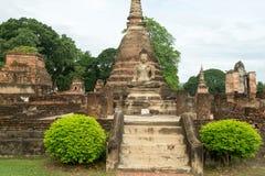 Ruinas en el parque histórico en sukhothai Fotos de archivo libres de regalías