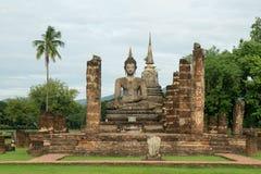 Ruinas en el parque histórico en sukhothai Imagen de archivo libre de regalías