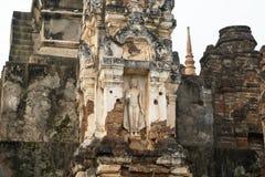 Ruinas en el parque histórico en sukhothai Imagenes de archivo