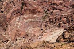Ruinas en el Petra Imagen de archivo