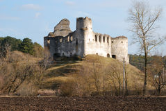 Ruinas en el Sydoriv foto de archivo libre de regalías