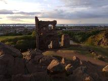Ruinas en Escocia fotos de archivo