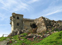 Ruinas en España Imagen de archivo libre de regalías
