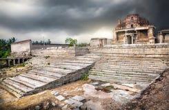 Ruinas en Hampi Imagen de archivo