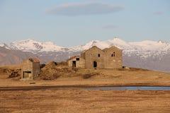Ruinas en Islandia del este Imagenes de archivo