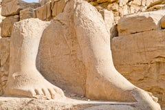 Ruinas en Karnak (Luxor) Egipto. Foto de archivo libre de regalías