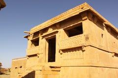 Ruinas en Kuldhara Imágenes de archivo libres de regalías