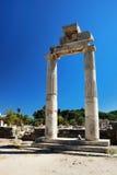 Ruinas en la ciudad de Kos Fotos de archivo