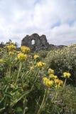 Ruinas en la isla de Kithira, Grecia Fotografía de archivo