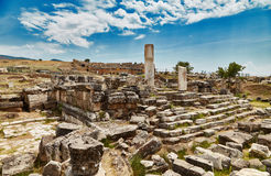 Ruinas en Pamukkale - 1 Fotografía de archivo